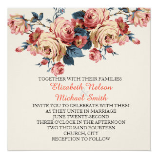 Spring is coming Wedding Invite