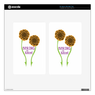 Spring Is Here! Kindle Fire Skin