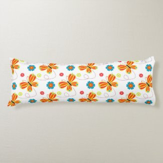 Spring is in the air body pillow