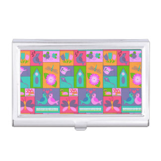 Spring is in the Air Business Card Holder