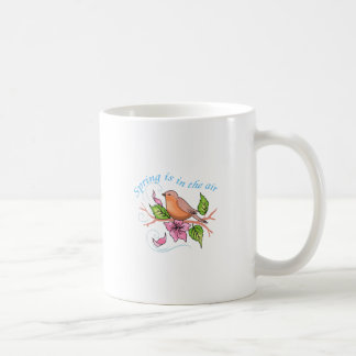 SPRING IS IN THE AIR CLASSIC WHITE COFFEE MUG