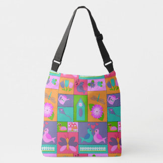 Spring is in the Air Crossbody Bag