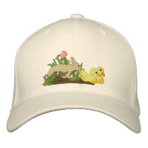 Spring is in the Air Embroidered Baseball Cap