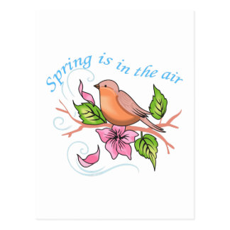 SPRING IS IN THE AIR POSTCARDS