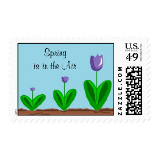 Spring is in the Air Stamp