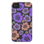 spring japanese blossoms flower power purple iPhone 4 Case-Mate cases