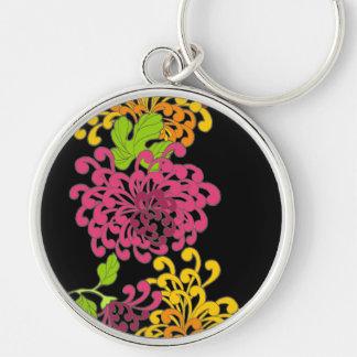 Spring Japanese Flowers Key Chain