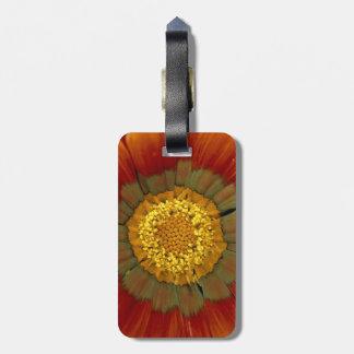 spring joy travel bag tags