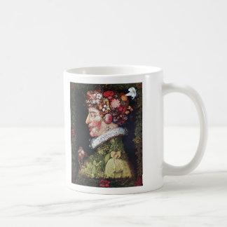 Spring (La Primavera) Giuseppe Arcimboldo Classic White Coffee Mug