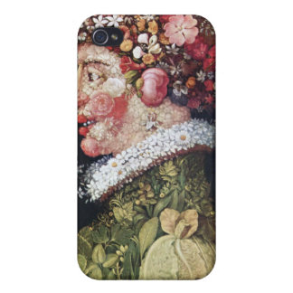 Spring (La Primavera) Giuseppe Arcimboldo iPhone 4 Covers