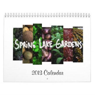 Spring Lake Gardens 2013 Calendar
