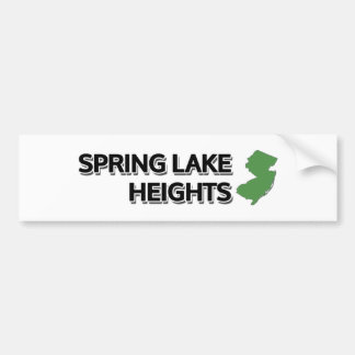 Spring Lake Heights, New Jersey Bumper Sticker