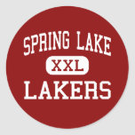Spring Lake - Lakers - Junior - Spring Lake Round Stickers