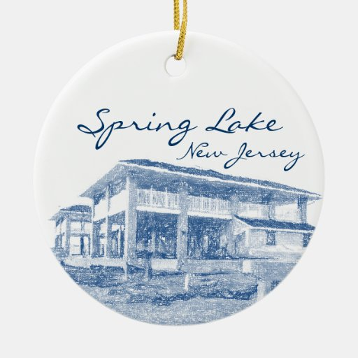 Spring Lake New Jersey Ornament