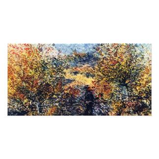 Spring Landscape By Pierre-Auguste Renoir Picture Card