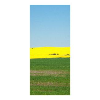 Spring Landscape Meadow Rack Card