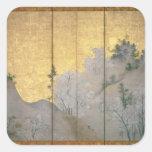 Spring Landscape Sticker