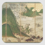 Spring Landscape with Sun Stickers
