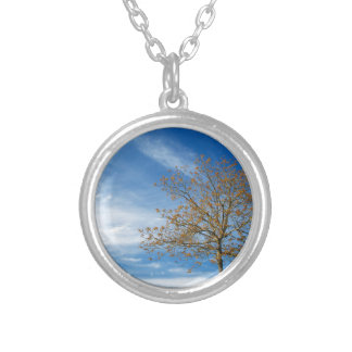 Spring Landscapes Silver Plated Necklace