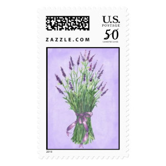 Spring Lavender Bouquet Postage
