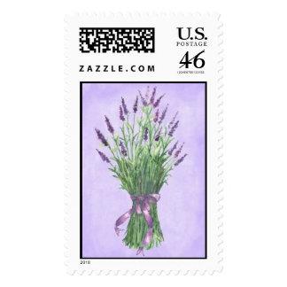 Spring Lavender Bouquet Postage Stamps