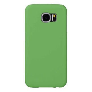 Spring Leaf Green in an English Country Wedding Samsung Galaxy S6 Cases