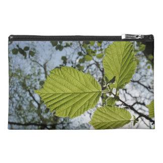 Spring leaves accessory bag