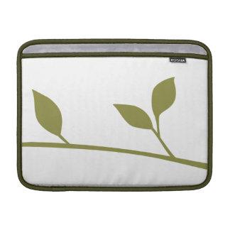 Spring Leaves and Twig MacBook Air Sleeves