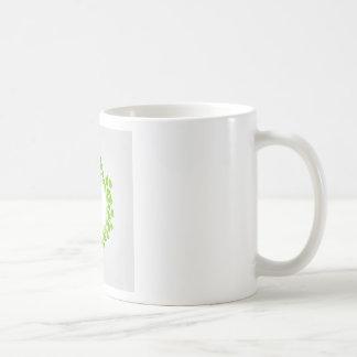 Spring leaves artwork coffee mug