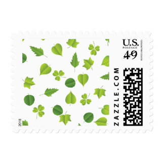 "Spring Leaves ""change background"" Stamps"