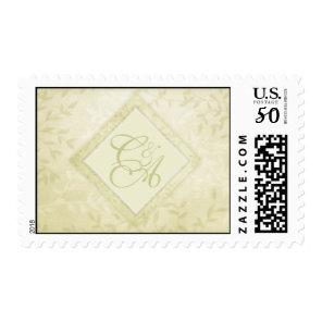 Spring Leaves Monogram Stamps