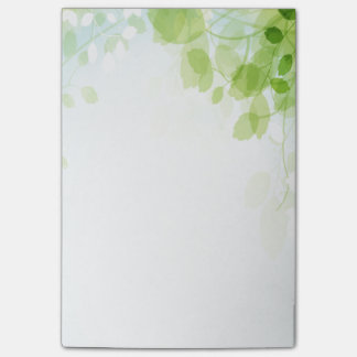 Spring Leaves Watercolor Post-it® Notes
