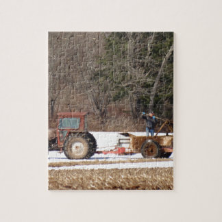 Spring Life on a Farm Jigsaw Puzzle