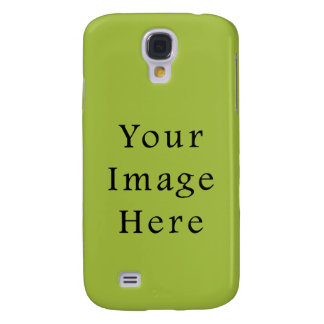 Spring Light Lime Green Color Trend Blank Template Samsung Galaxy S4 Case