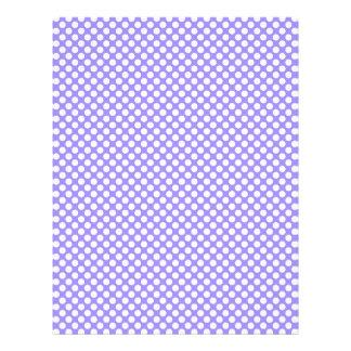 Spring Light Purple Polka Dot Scrap Book Paper