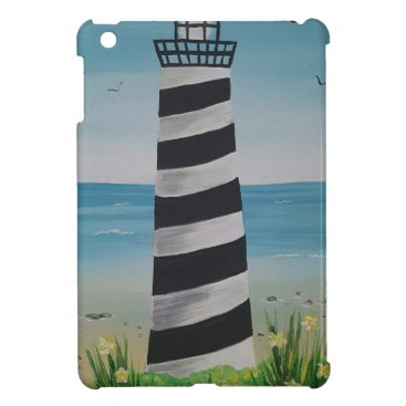 Beach Themed Spring Lighthouse Cover For The iPad Mini