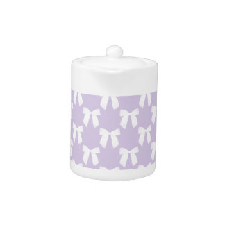 Spring Lilac Pastel With White Bows