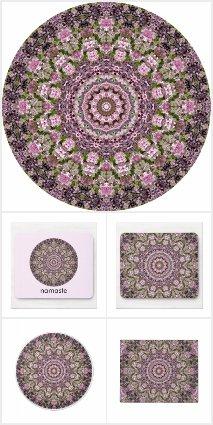 Spring Lilacs Mandala