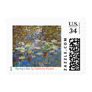 Spring Lilies stamps