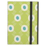 Spring Lime Green Blue Circles Mother's Day Gifts iPad Folio Case