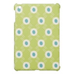 Spring Lime Green Blue Circles Mother's Day Gifts iPad Mini Covers