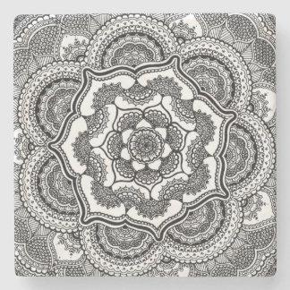 Spring Lotus Stone Coaster