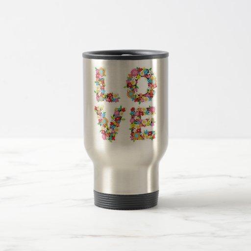 Spring Love 15 Oz Stainless Steel Travel Mug
