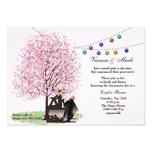 Spring Love Couples Shower Invitation