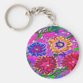 Spring Love For You -  Vibrant Foral Romance V1 Keychain