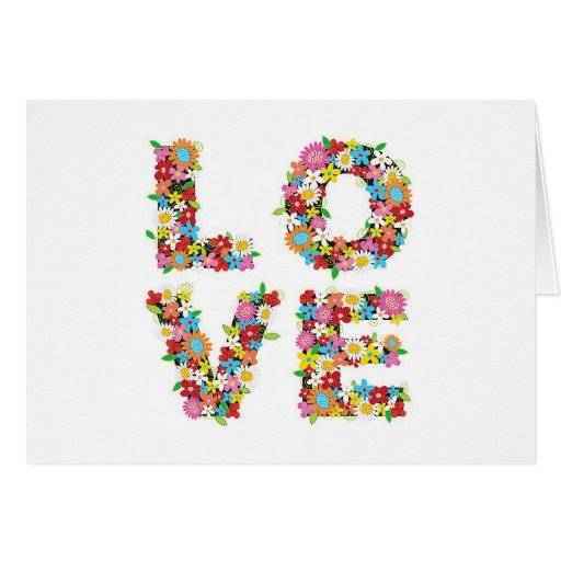 Spring Love Greeting Card