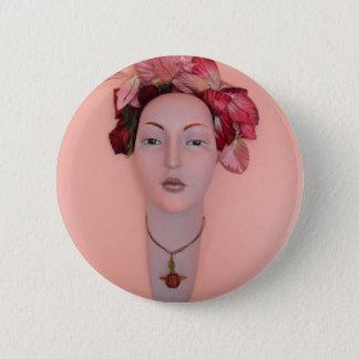 Spring Maiden Pinback Button