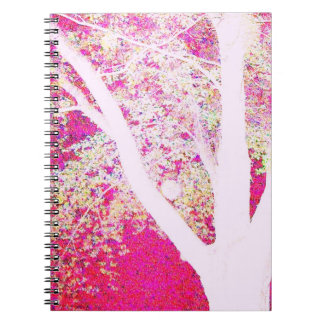 Spring Maple: hot pink Notebook