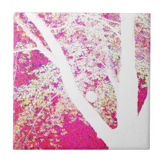 Spring Maple: hot pink Tile