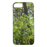 Spring Maple Leaves Green Nature iPhone 8/7 Case